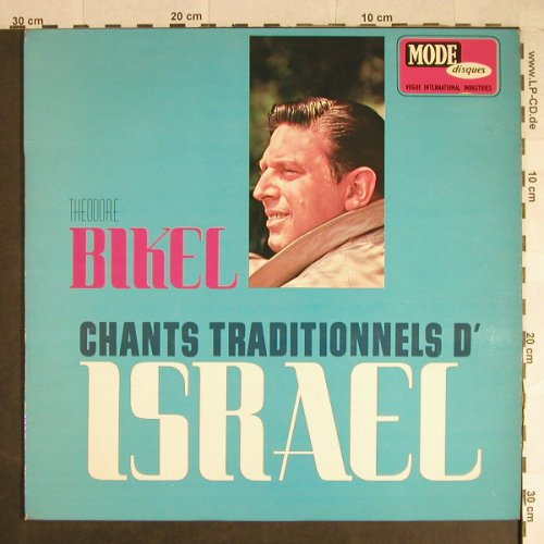 Bikel,Theodore: Chants Traditionnels d' Israel, Mode/Vogue(MDEKL 9432), F,vg+/m-,  - LP - H595 - 5,00 Euro