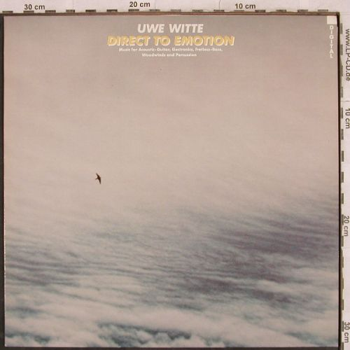Witte,Uwe: Direct To Emotion, Thein(TH 47100585), D, 1986 - LP - H9854 - 5,00 Euro