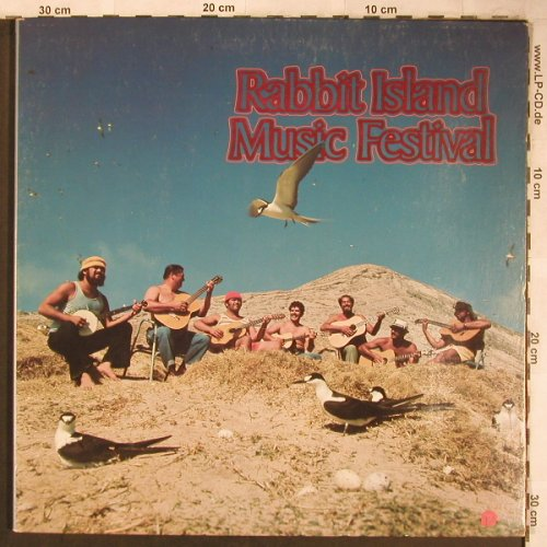 Rabbit Island Music Festival: Same, Foc, Panini(PS-1004), US, 1973 - LP - X4982 - 6,00 Euro