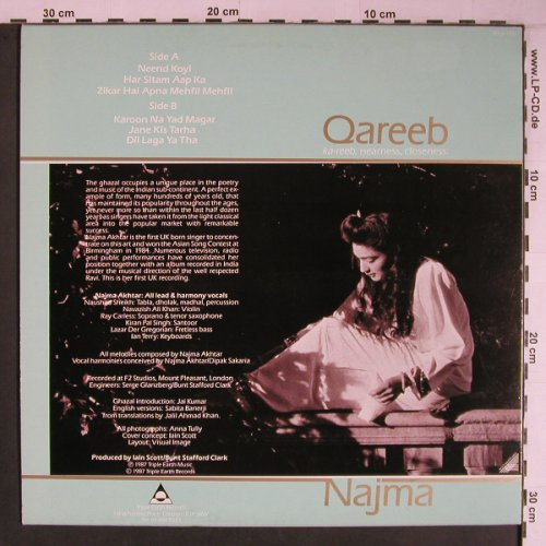 Najma: Qareeb, Triple Ear(TERRA 103), UK, 1987 - LP - X6816 - 9,00 Euro