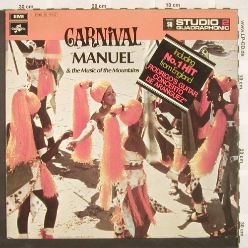 Manuel & the music of t.Mountains: Carnival, EMI(062-04754Q), D, 71 - LPQ - A3651 - 7,50 Euro