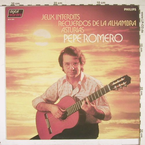 Romero,Pepe: Famose Spanish Guitar Music, Philips(6514 381), NL, 83 - LP - B1458 - 5,00 Euro