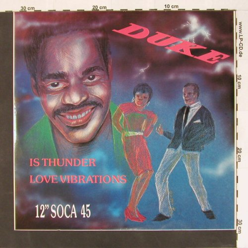 Duke: Is Thunder/Love Vibrations, Soca, Hot Vinyl(HVT 43), US,  - 12inch - B8478 - 4,00 Euro