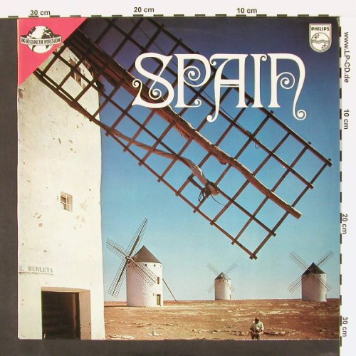 V.A.Spain: Songs & Sound The Around, Philips(6300 119), NL,  - LP - C78 - 5,00 Euro