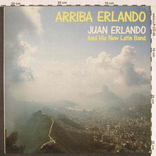 Erlando,Juan and his New Latin Band: Arriba Erlando, Intersound(ISST 190), D,  - LP - E355 - 6,00 Euro