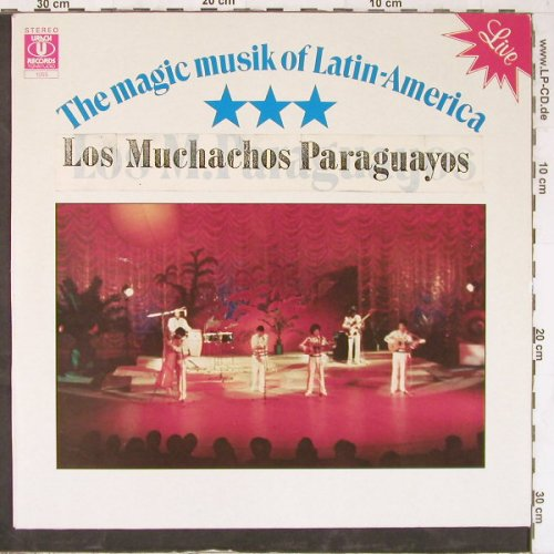 Los Muchachos Paraguayos: The Magic Musik Of Latin-America, Urach Records(1055), D, 1986 - LP - E5010 - 5,50 Euro