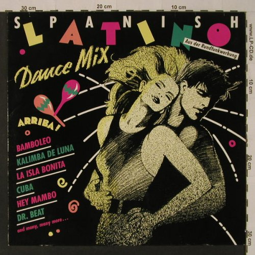 V.A.Spanish Latino Dance Mix: 6 Tr., Dino Music(2021), D, 1989 - LP - F4649 - 4,00 Euro