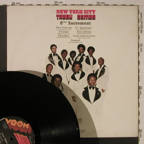 Tabou Combo: New York City, Voom Voom(VVL 6003), I, 1975 - LP - F5800 - 6,50 Euro