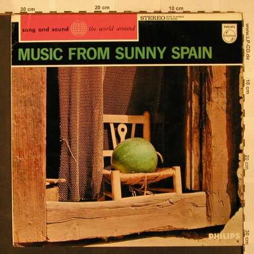 V.A.Music From Sunny Spain: Hnos. Elizaga...Los Valldemosa, Philips(821 225 PY), NL,  - LP - H2557 - 5,50 Euro