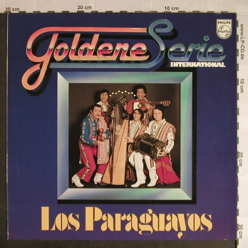 Los Paraguayos: Goldene Serie, Club-Edition, Philips(30 704 1), D,  - LP - H324 - 5,00 Euro