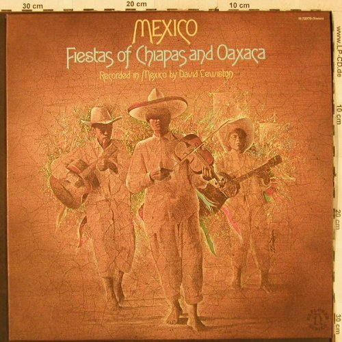 V.A.Mexico: Fiesta of Chiapas and Oaxaca, Nonesuch Explorer(H-72070), US, 1976 - LP - H3446 - 6,50 Euro