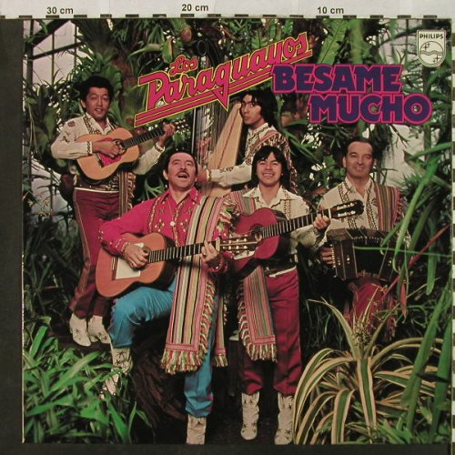 Los Paraguayos: Besame Mucho, Philips(6303 122), D, 1975 - LP - H4917 - 6,00 Euro