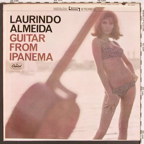 Almeida,Laurindo: Guitar from Ipanema, Capitol(ST 2197), US, 1964 - LP - X3241 - 12,50 Euro