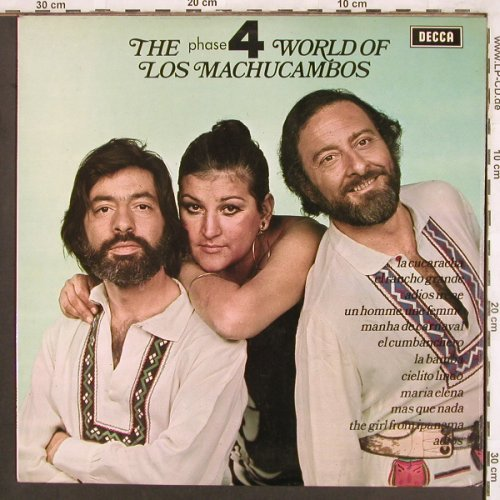 Los Machucambos: The phase 4 world of, woc, Decca(SPA 144), UK, 1971 - LP - X3714 - 6,00 Euro