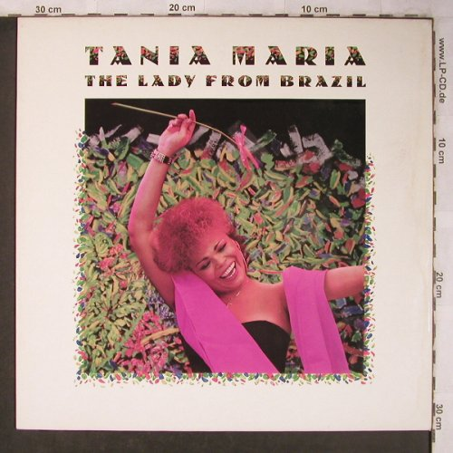 Maria,Tania: The Lady From Brazil, Manhattan(24 0663 1), NL, 1986 - LP - X5135 - 5,50 Euro