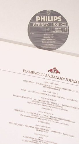 Los Romeros: Flamenco!Fandango!Folklore!, Philips(6747 429), NL,Box,  - 2LP - X5198 - 9,00 Euro