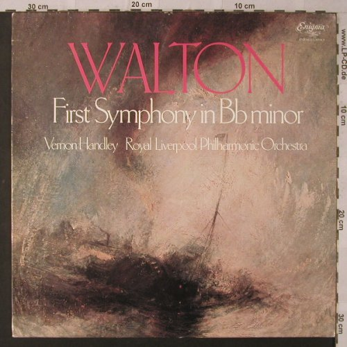 Walton,William: Sinfonie Nr.1 in Bb minor, Enigma(VAR 1054), UK, 1978 - LP - K6900 - 12,50 Euro