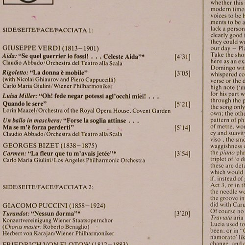 Domingo,Placido: The Best Of, Deutsche Gramophon(2230 429), YU, 1982 - LP - K6999 - 5,00 Euro