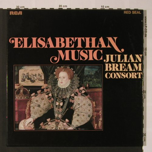 Bream Consort,Julian: Elisabethan Music, Box, RCA(26.35045), D, 1972 - 2LP - K7361 - 9,00 Euro