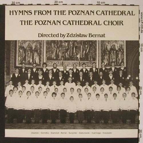 Poznan Cathedral Choir: Hymns From The Poznan Cathedral, Azymuth(1003), B, 1984 - LP - K7473 - 5,00 Euro