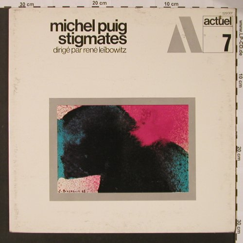Puig,Michel: Stigmates, Foc,co, Bad Condition, BGY/Actuel 7(529 307), F,  - LP - K7514 - 4,00 Euro