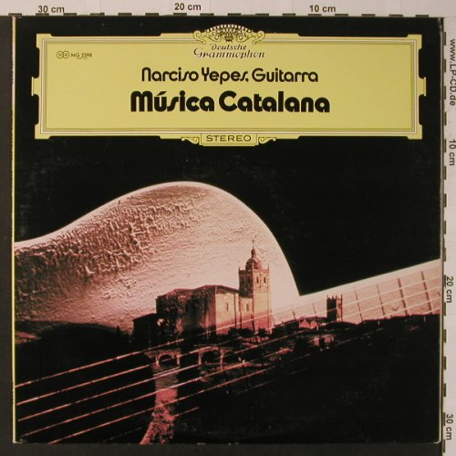Yepes,Narciso: Musica Catalana, Deutsche Grammophon(MG 2398), J, 1972 - LP - K7567 - 5,00 Euro