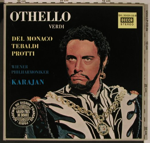 Verdi,Giuseppe: Othello, Box, Decca(SXL 20 031/33-B), D,  - 3LP - K7739 - 20,00 Euro
