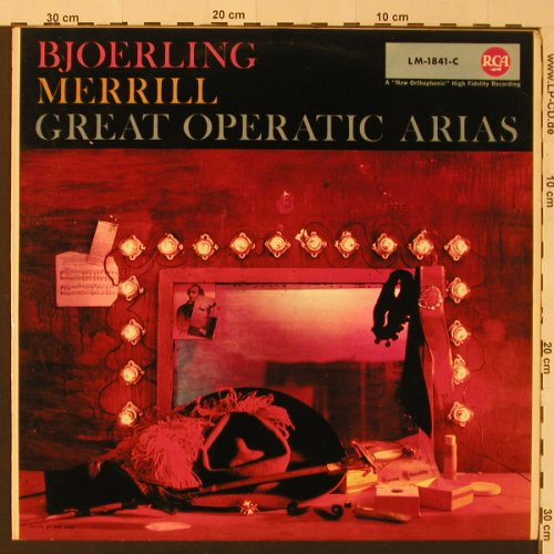 Björling,Jussi / Robert Merrill: Great Operatic Arias, RCA(LM-1841-C), D,  - LP - K7907 - 9,00 Euro