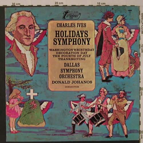 Ives,Charles: Holidays Symphony, Turnabout(TV 34146S), US, 1967 - LP - K8486 - 9,00 Euro