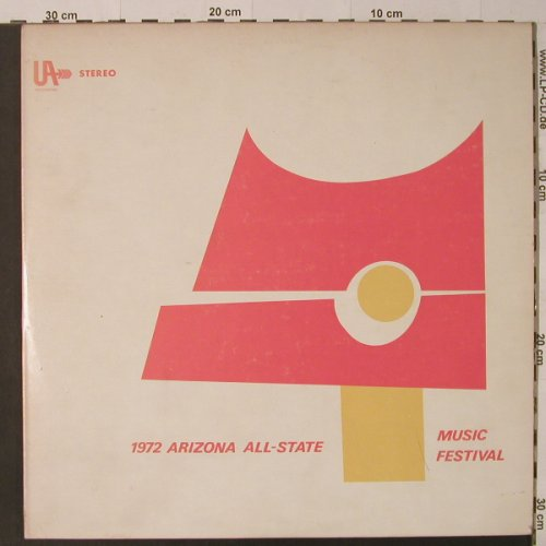 V.A.1972 Arizona All-State Music Fe: 15 Tr., Foc, UA(AUS-771-57662), US, 1972 - 2LP - K8615 - 9,00 Euro