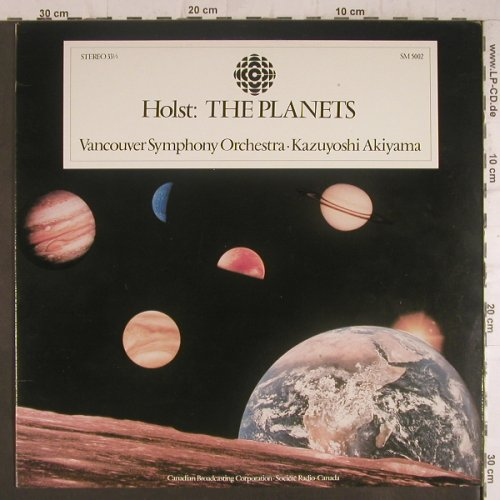Holst,Gustav: The Planets, Canadian Broadcasting C.(SM 5002), US, 80 - LP - K9100 - 6,00 Euro