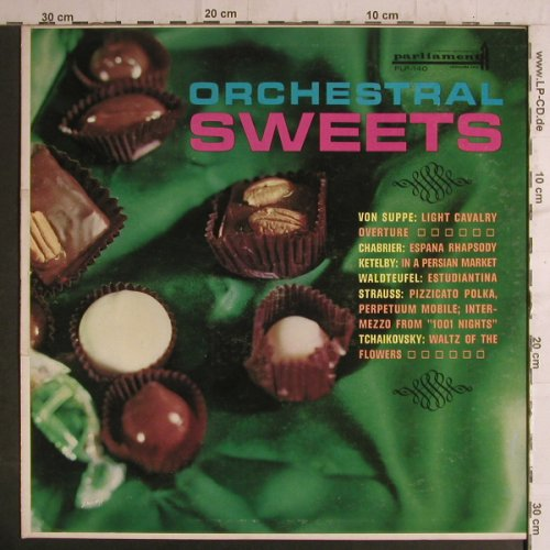 V.A.Orchestral Sweets: Von Suppe,Chabrier,Ketelby.., Parliament Rec.(PLP-140), US, 61 - LP - K9295 - 6,00 Euro