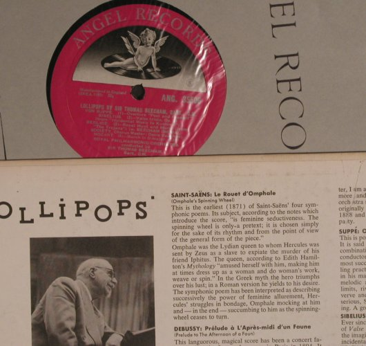 V.A.Lollipops - Favorite Pieces of: Sir Thomas Beecham, Bart., Angel(35596), UK/US,  - LP - K9296 - 7,50 Euro