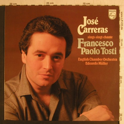 Carreras,Jose: singt Francesco Paolo Tosti, Philips(9500 743), NL, 1980 - LP - K9343 - 6,00 Euro