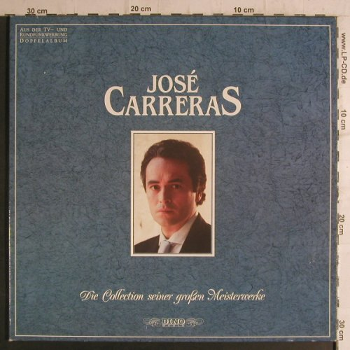 Carreras,Jose: Die Collection s. gr.Meisterwerke, Dino(DLP 2241), D, Foc, 89 - 2LP - K9344 - 7,50 Euro