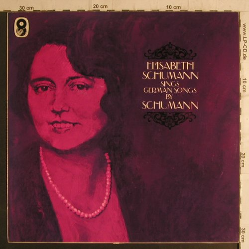 Schumann,Elisabeth: sings German Songs by Schubert, World Records(SH 157), UK, Ri,  - LP - K9356 - 6,00 Euro
