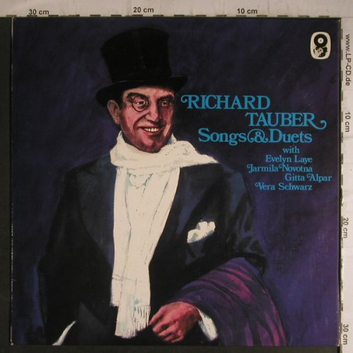 Tauber,Richard: Songs & Duets, World Sound(SH 122), UK,  - LP - K9542 - 5,00 Euro