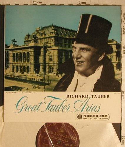 Tauber,Richard: Great Tauber Arias, Parlophone/Odeon(PMB 1011), UK,  - 10inch - K9575 - 6,00 Euro