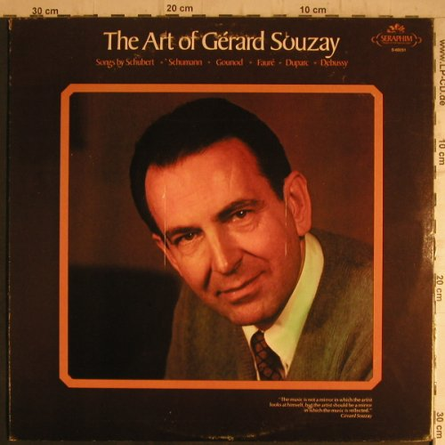 Souzay,Gerard: The Art of, Dalton Baldwin,piano, Seraphim(S-60251), UK,m-/vg+,  - LP - K9592 - 4,00 Euro