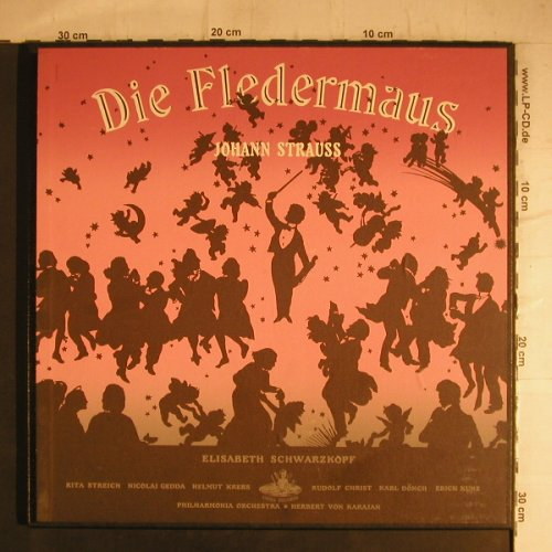 Strauß,Johann: Die Fledermaus(The Bat), Box, Angel(3539 B/L), US, 1955 - 2LP - K9618 - 20,00 Euro