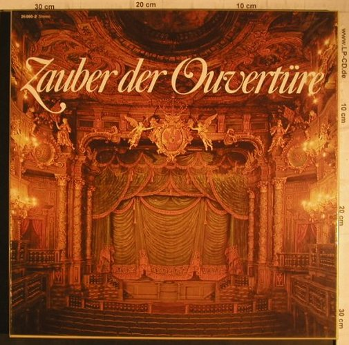 V.A.Zauber der Overt�re: Flotow ...Lortzing, Box, Sonocord(26 080-2), D, 1984 - 2LP - K9657 - 6,00 Euro