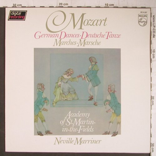 Mozart,Wolfgang Amadeus: German Dances, Marches, Philips(6514 207), NL, 82 - LP - K9670 - 5,00 Euro