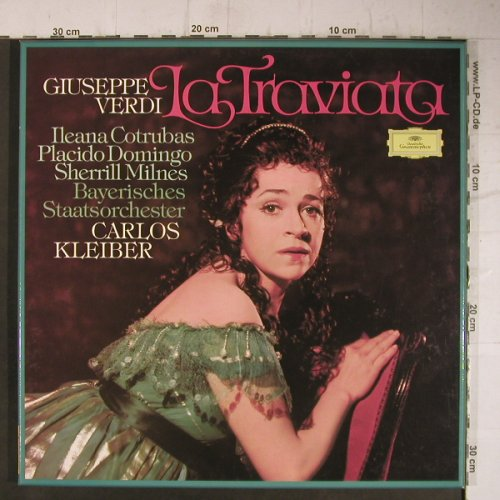 Verdi,Giuseppe: La Traviata,Box, Club Edition, D.Gr.(34 396 2), D, 1977 - 2LP - K9730 - 9,00 Euro