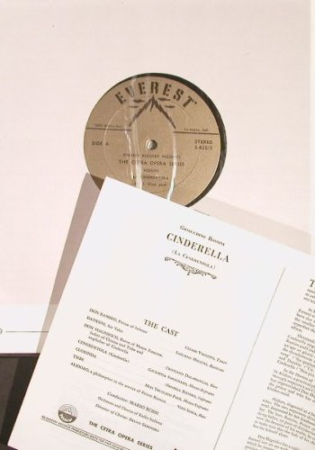 Rossini,Gioacchino: La Cenerentola,(Cinderella)Box, Cetera/Everest(S-432/2), US, Ri, 55 - 2LP - K9915 - 6,00 Euro