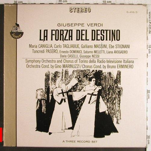 Verdi,Giuseppe: La Forza Del Destino,Box, m-/vg-, Everest(S-418/3), US,  - 3LP - K9941 - 7,50 Euro