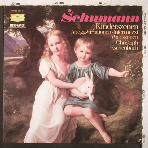 Schumann,Robert: Kinderszenen, Abegg-Variationen.., D.Gr. Resonance(2535 224), D, 1977 - LP - K9987 - 5,00 Euro