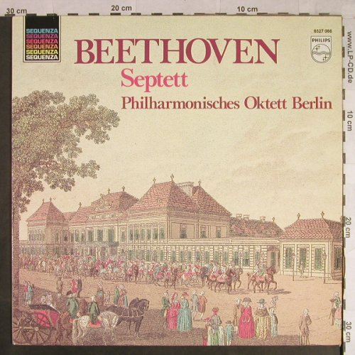 Beethoven,Ludwig van: Septett Es-Dur op.20, Philips Sequenza(6527 066), NL,  - LP - L1105 - 5,00 Euro