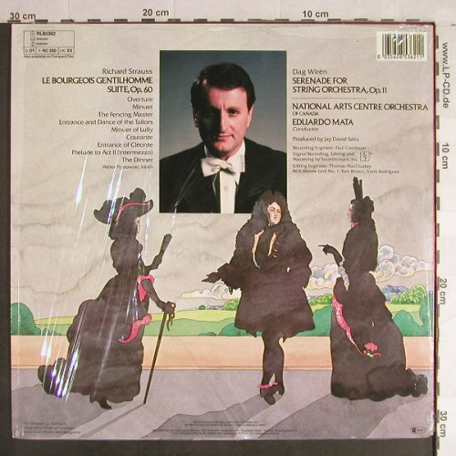 Strauss,Richard / Dag Wiren: Le Bourgeois Gentilhomme Suite, RCA Red Seal(RL 85362), D, 1985 - LP - L1422 - 5,00 Euro