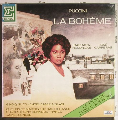Puccini,Giacomo: La Boheme,Box, FS-New, Erato/Air France(NUM 75450), F, 1988 - 2LP - L1427 - 15,00 Euro