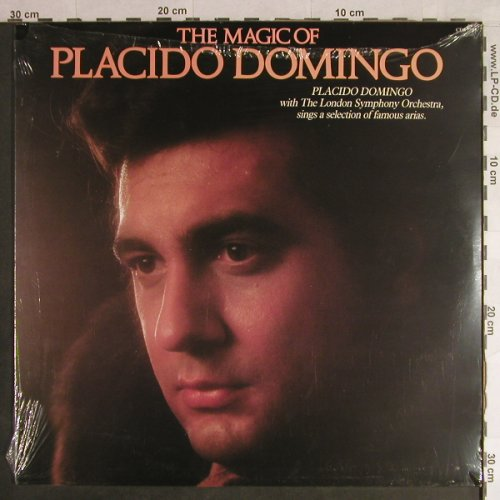 Domingo,Placido: The Magic Of, FS-New, Pickwick(CDS 1209), UK,  - LP - L1439 - 7,50 Euro
